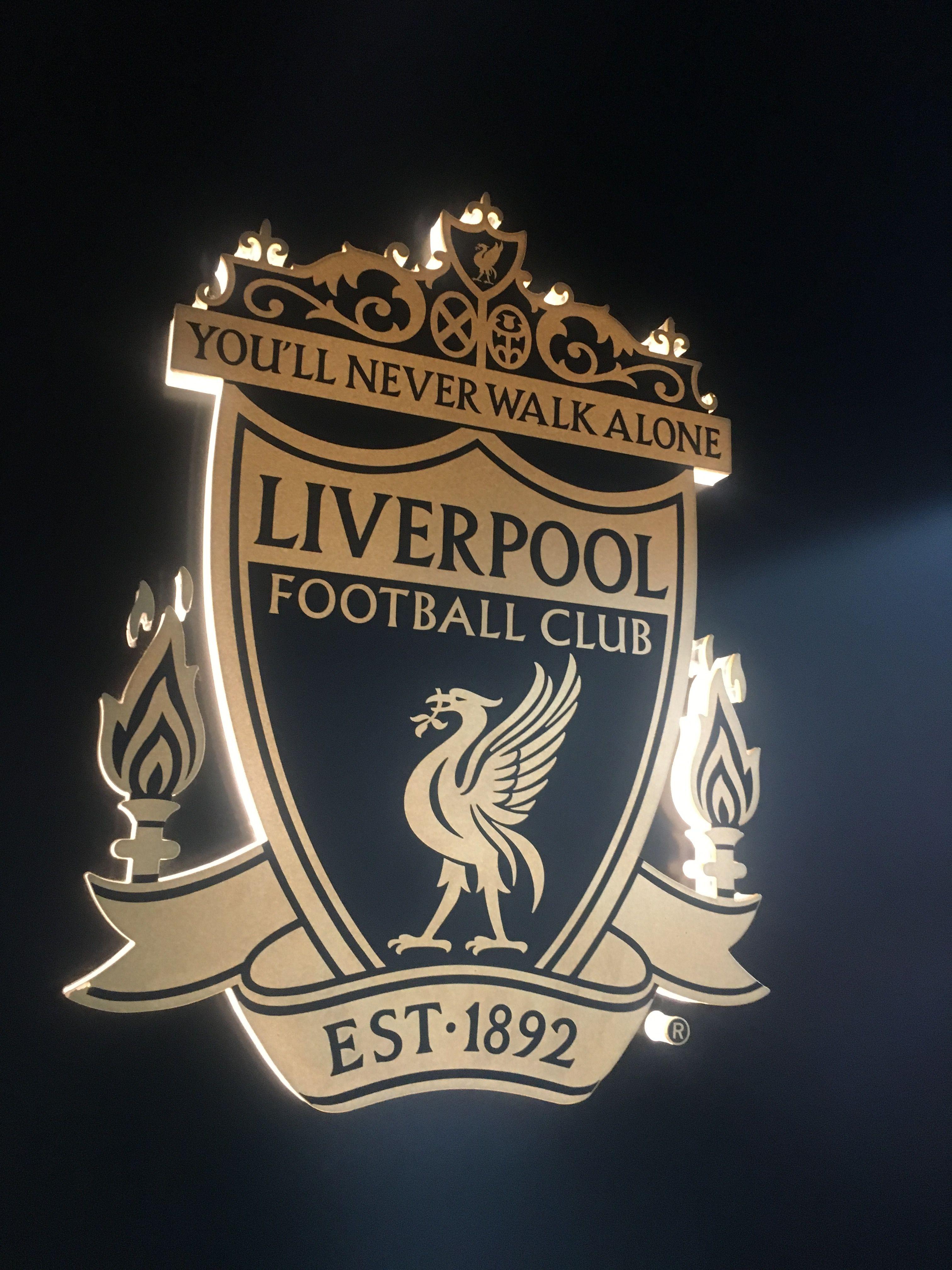 Liverpool Fc Club Badge YNWA Liverpool FC Pinterest