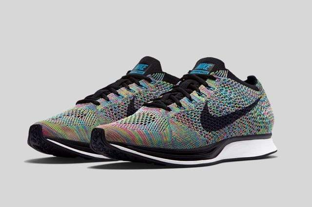 save off unique design reasonable price nike-flyknite-racer-rainbow-bumper-5 | Best sneakers, Nike flyknit ...
