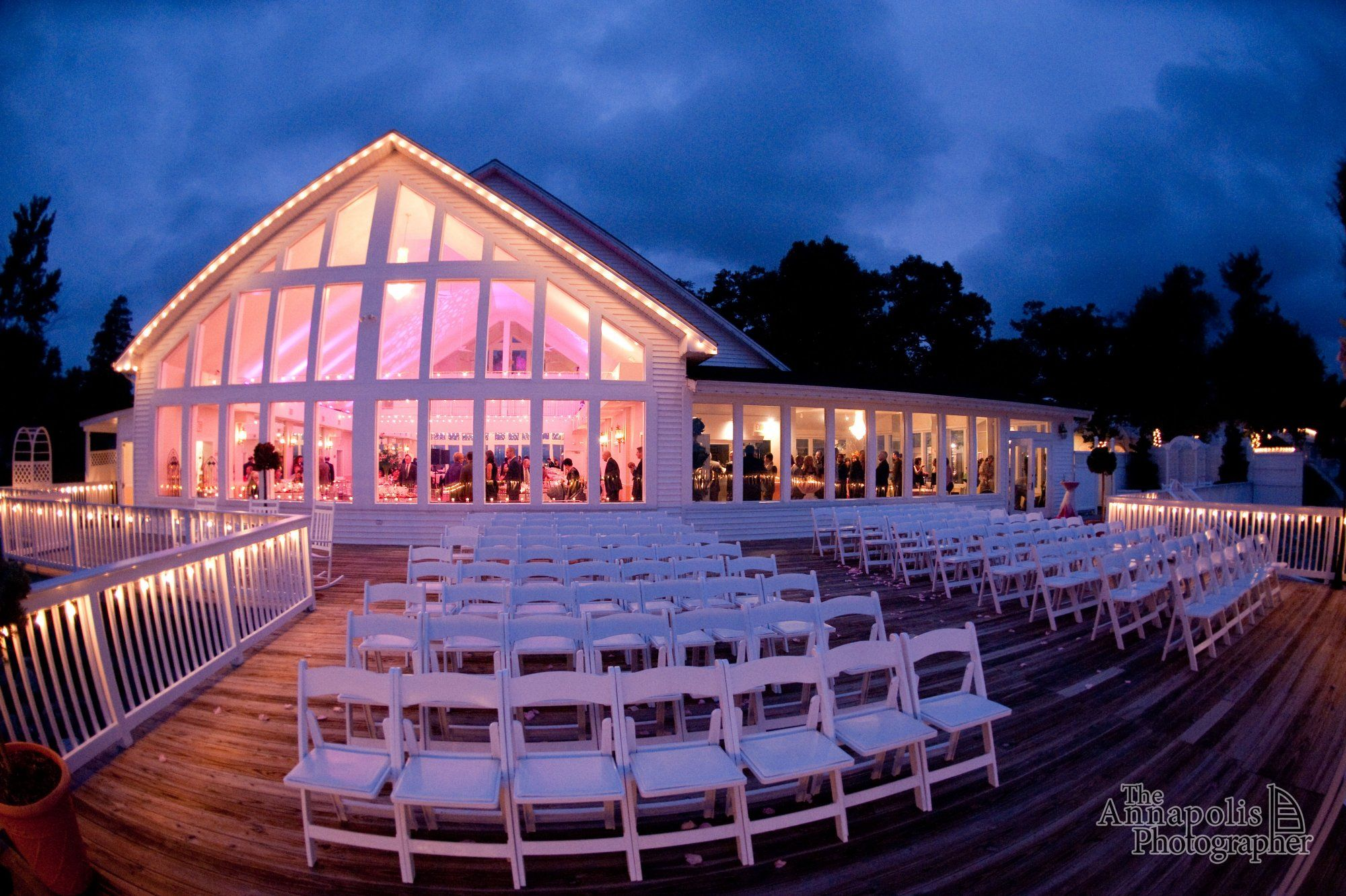 Waterfront Wedding Venue In Maryland Celebrations At The Bay