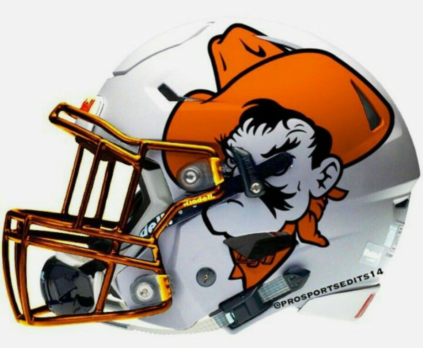 Oklahoma State Cowboysoklahoma Statemore Great Ideas More Pins Like This At Fosterginger P Football Helmets Oklahoma State Football College Football Helmets