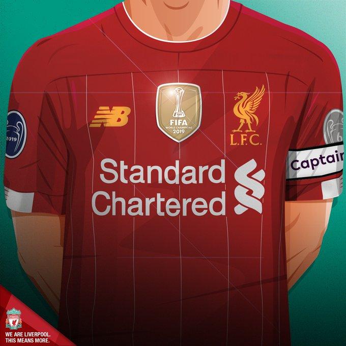 ليفربول يرتدي شارة بطل العالم بدء من الأحد المقبل Club World Cup Liverpool Club World Cup Jerseys