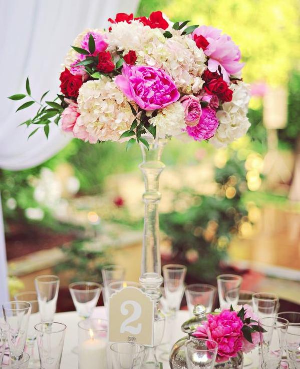 Elegant Romantic Wedding Centerpiece Ideas: Super Chic Romantic Wedding Centerpiece Ideas