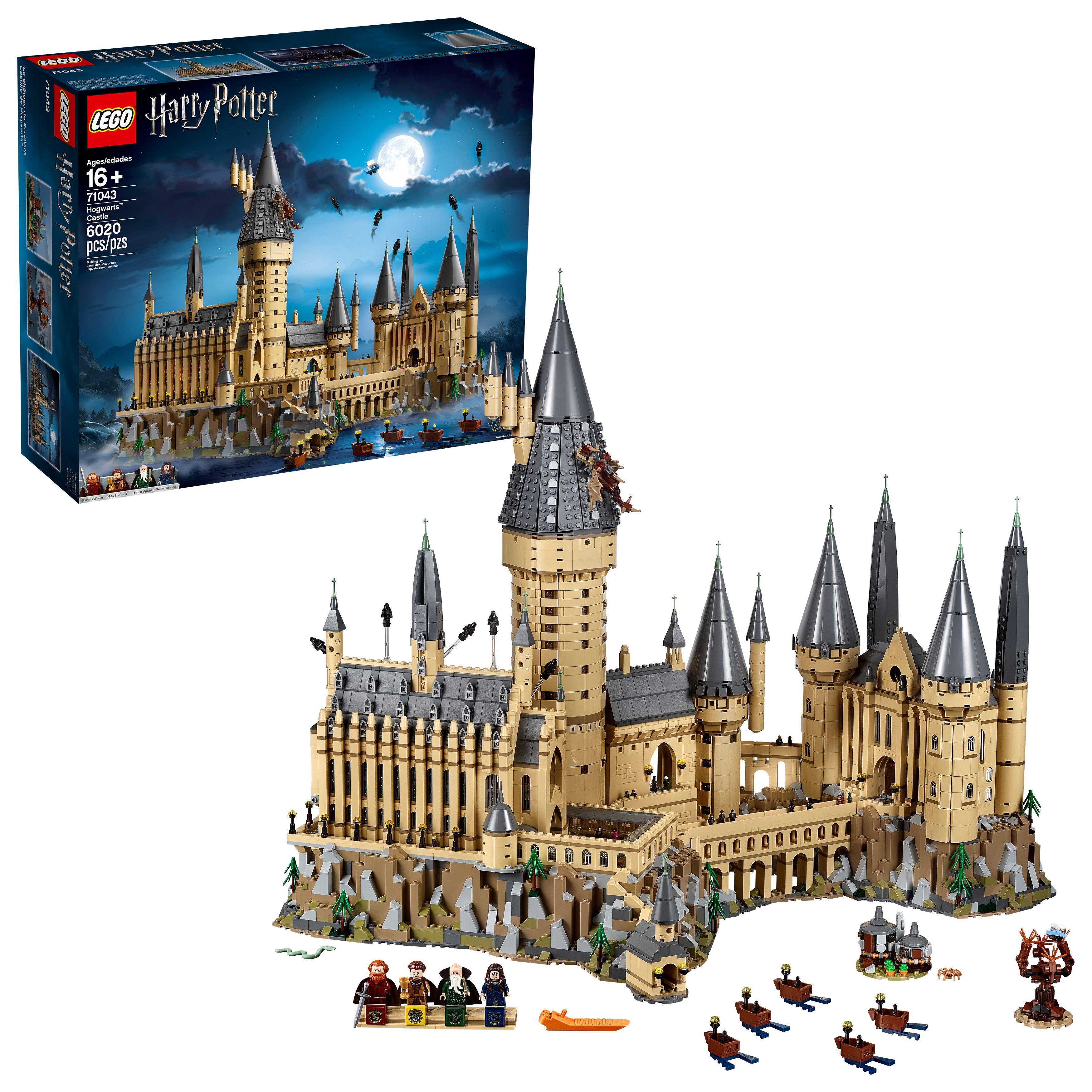 Lego Harry Potter Hogwarts Castle 71043 Building Kit 6020 Pieces Walmart Com Harry Potter Hogwarts Castle Harry Potter Castle Harry Potter Lego Sets