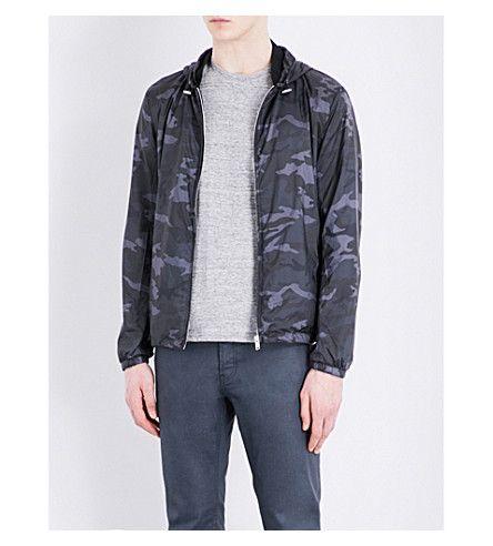 a82585d2 SANDRO Camouflage-Print Shell Jacket. #sandro #cloth #coats & jackets