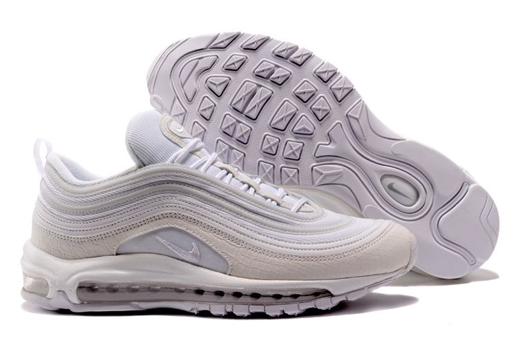 2017-2018 Hot Sale Hot Nike Air Max 97 White Snakeskin ...
