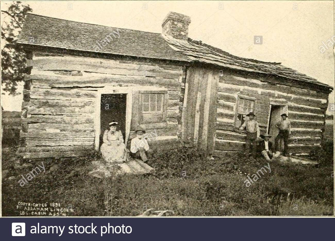 The Story Of Abraham Lincoln Or The Journey From The Log Cabin To The White House The Famous Grind Stone The In 2020 Story Of Abraham Historic Homes Lincoln Logs