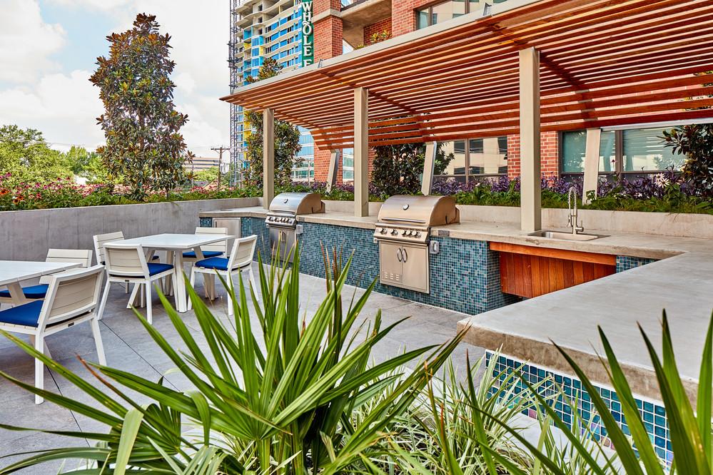 Gables McKinney Ave Apartments Dallas, TX Rooftop