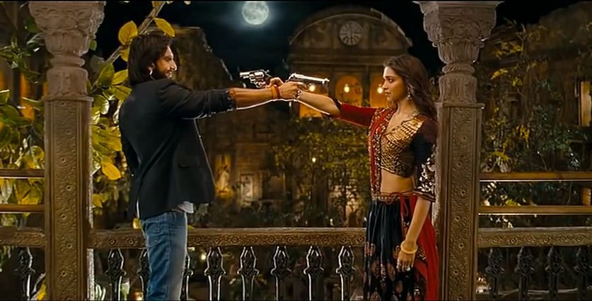 An Eye catching Scene From the Movie Goliyon Ki Raasleela ...
