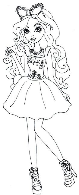 Free Printable Ever After High Coloring Pages Ashlynn Ella