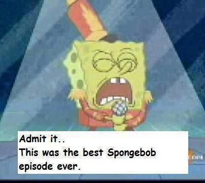 this or campfire song song | Hahaha! | Band jokes, Spongebob