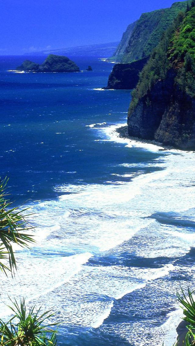 Hawaii Beach iPhone 5s wallpaper Watery Wallpaper