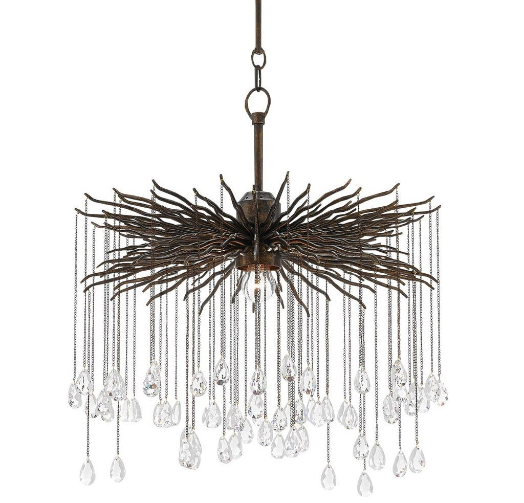 Small Fen Chandelier Design By Currey Amp Company For The