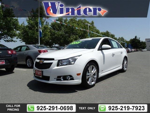 2014 Chevrolet Chevy Cruze Ltz Rs Pkg Call For Price 17566 Miles
