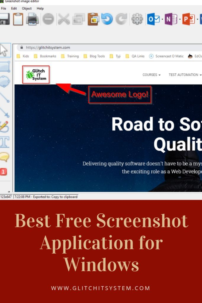 Best Free Screenshot Application for Windows Bookmarks