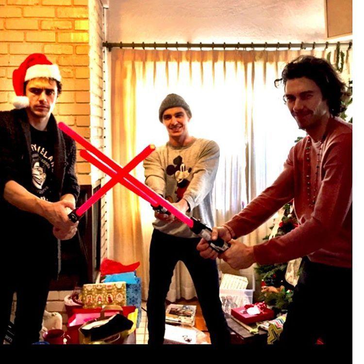 James Franco On Instagram The Franco Force Awakens Tom Is Definitely Kylo Renning Out James Franco Tom Franco Dave Franco
