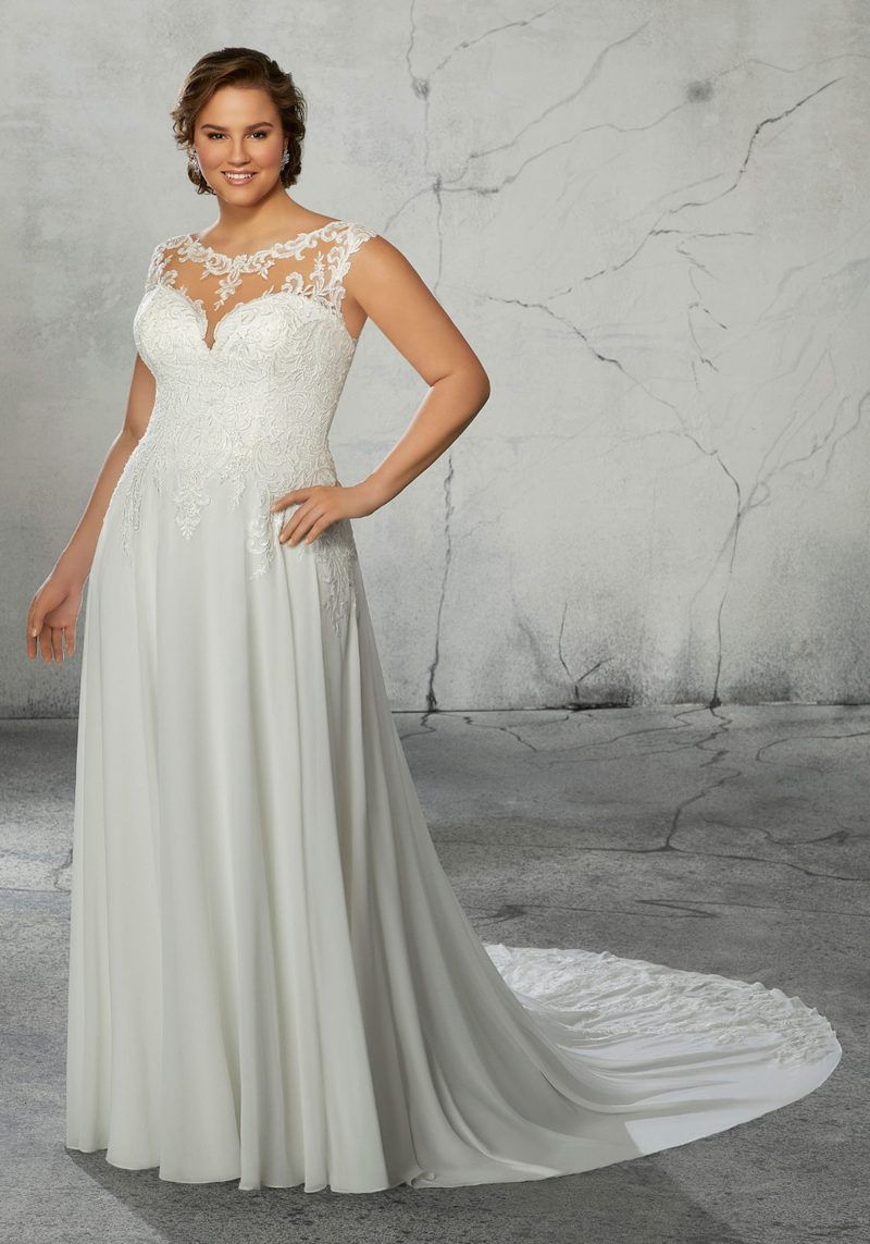 Plus Size Wedding Gown Of The Day New Julietta Collection By Mori Lee Cheap Wedding Dress Plus Size Wedding Gowns Wedding Dress Inspiration [ 2636 x 1834 Pixel ]