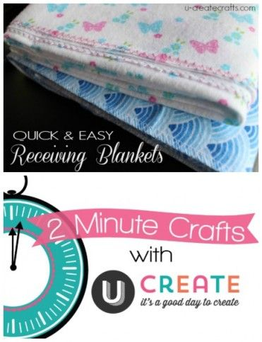 2 Minute Receiving Blankets Summer Activities Pinterest