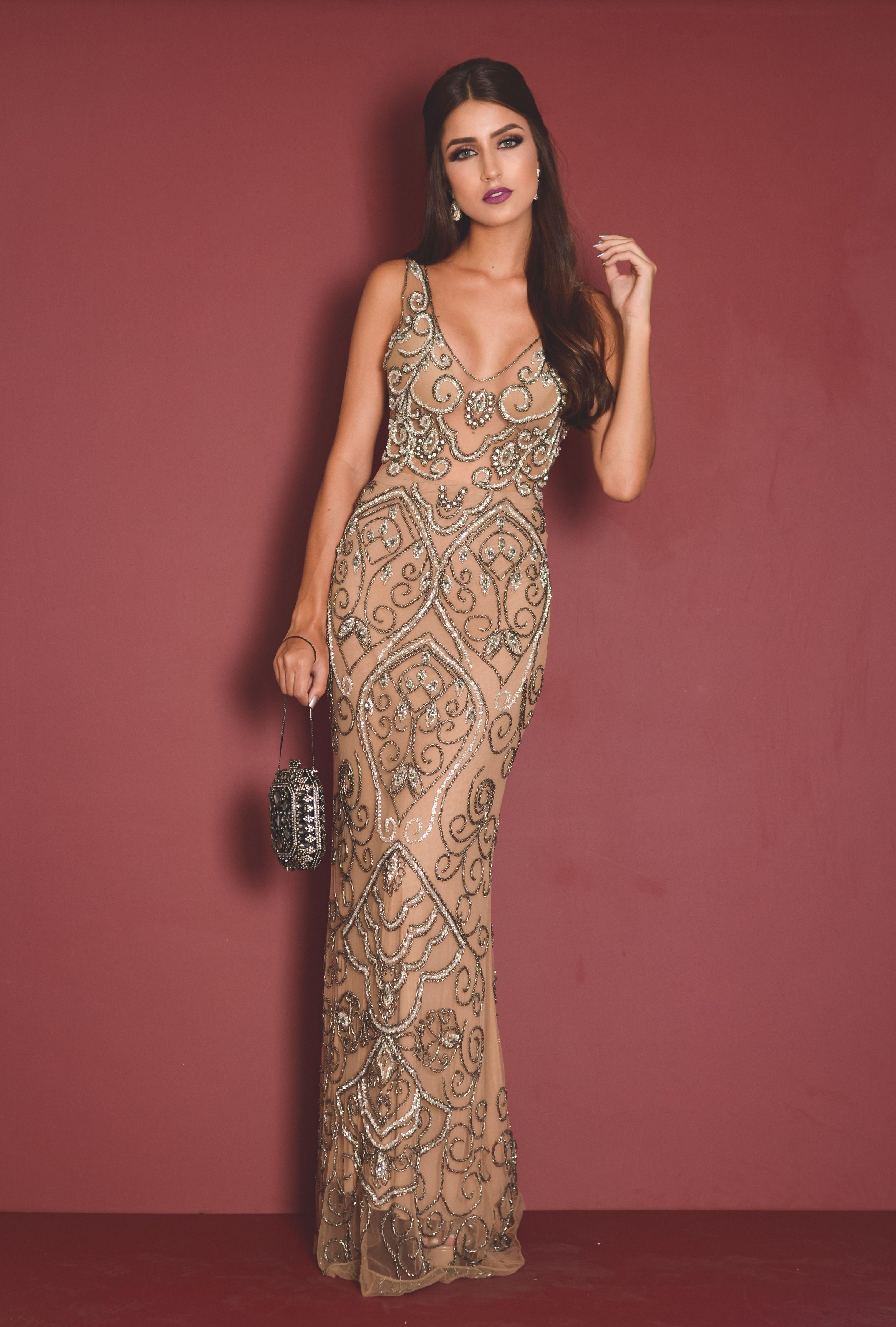 Vestido Premium Exclusivo Fits U Disponivel Para Aluguel Fitsu