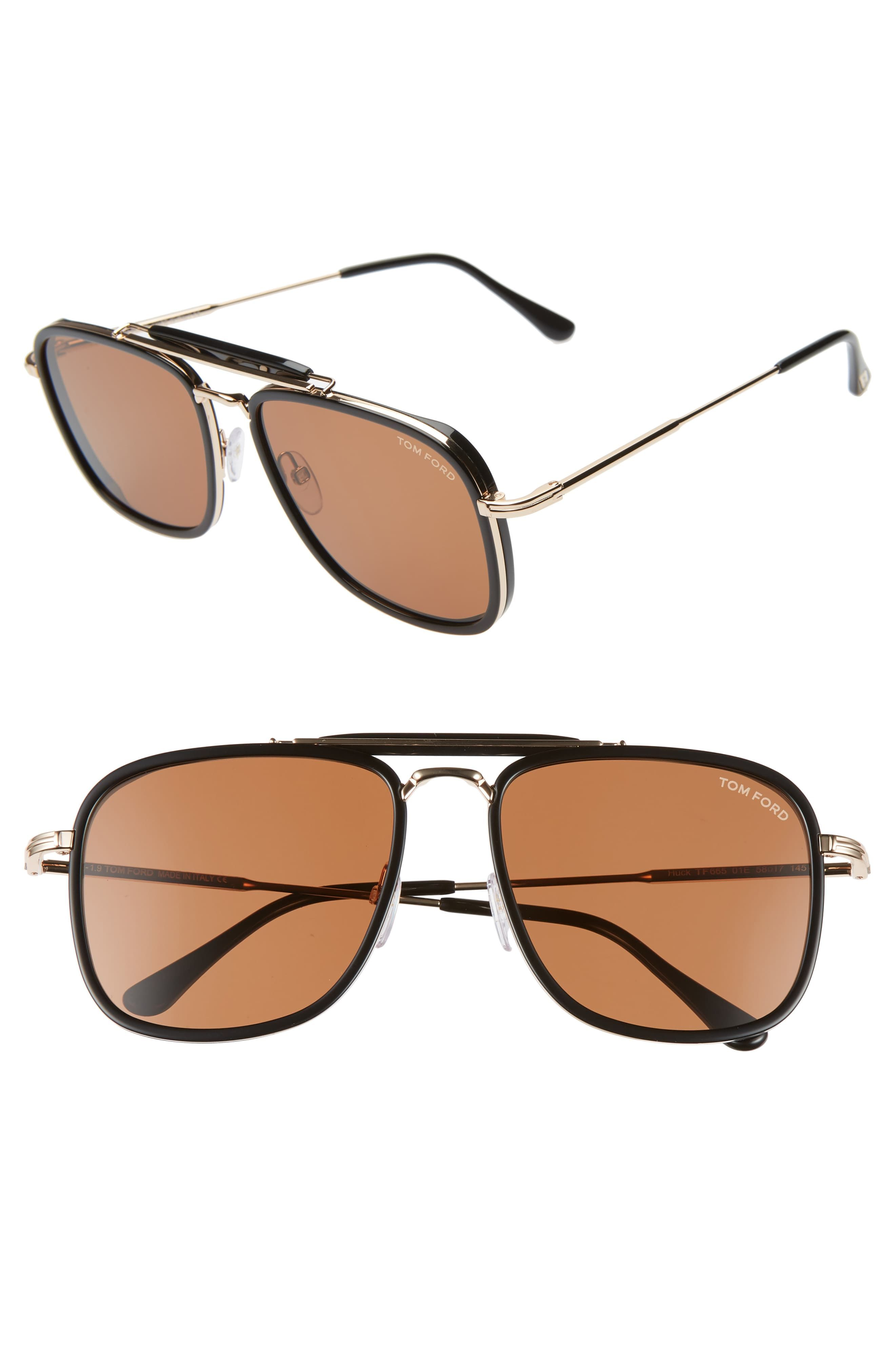 af1922596 Tom Ford 58mm Navigator Sunglasses in 2019 | Products | Tom ford ...