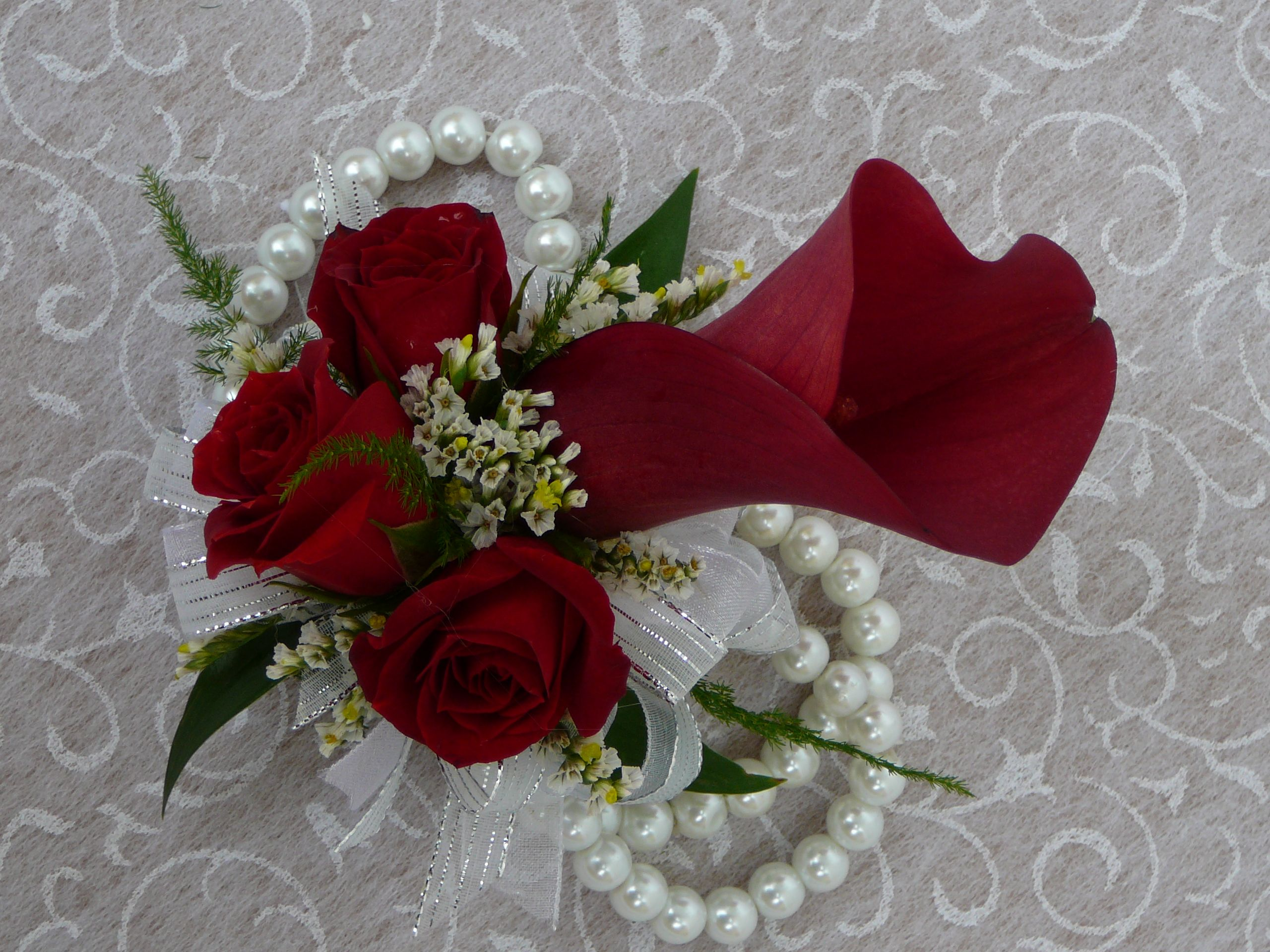 Blooms By Ella Home Corsage Affordable Flowers Wrist Corsage
