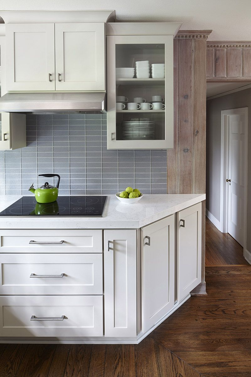 kitchen end cabinet angled end cabinet eases into passageway shown in 21694