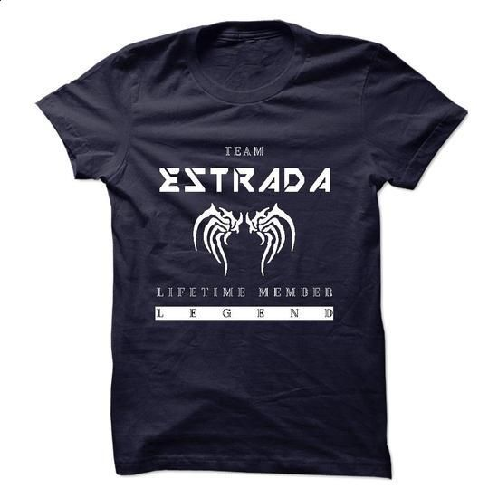 TEAM ESTRADA LIFE TIME MEMBER LEGEND 2015 DESIGN - vintage t shirts #tshirt blanket #sweatshirt quilt