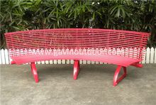 Cement Stone Collection Bench With Casting Legs Recycled Plastic Wood Collection Direct From China Mainland Metal Garden Benches Outdoor Bench Bench