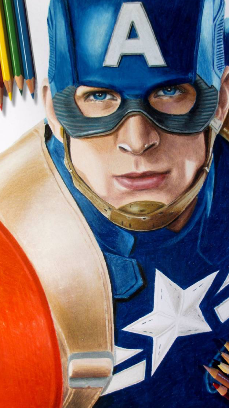 Pin By Ken Kelly On I Phone Marvel Drawings Colored Pencil Artwork Avengers Drawings
