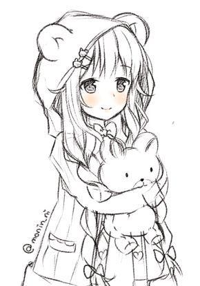 Super Fofa Desenhos De Anime Desenhos Kawaii Desenho De Anime