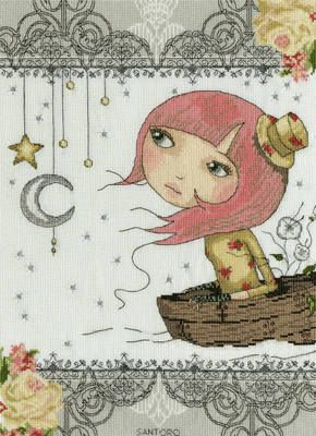 Adrift - Mirabelle Cross Stitch - Bothy Threads