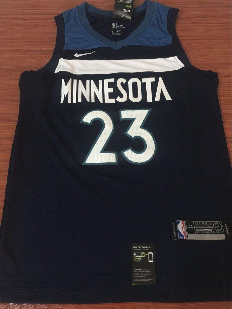 Men 23 Jimmy Butler Jersey Blue Minnesota Timberwolves Jersey Fanatics 8ce48ba67