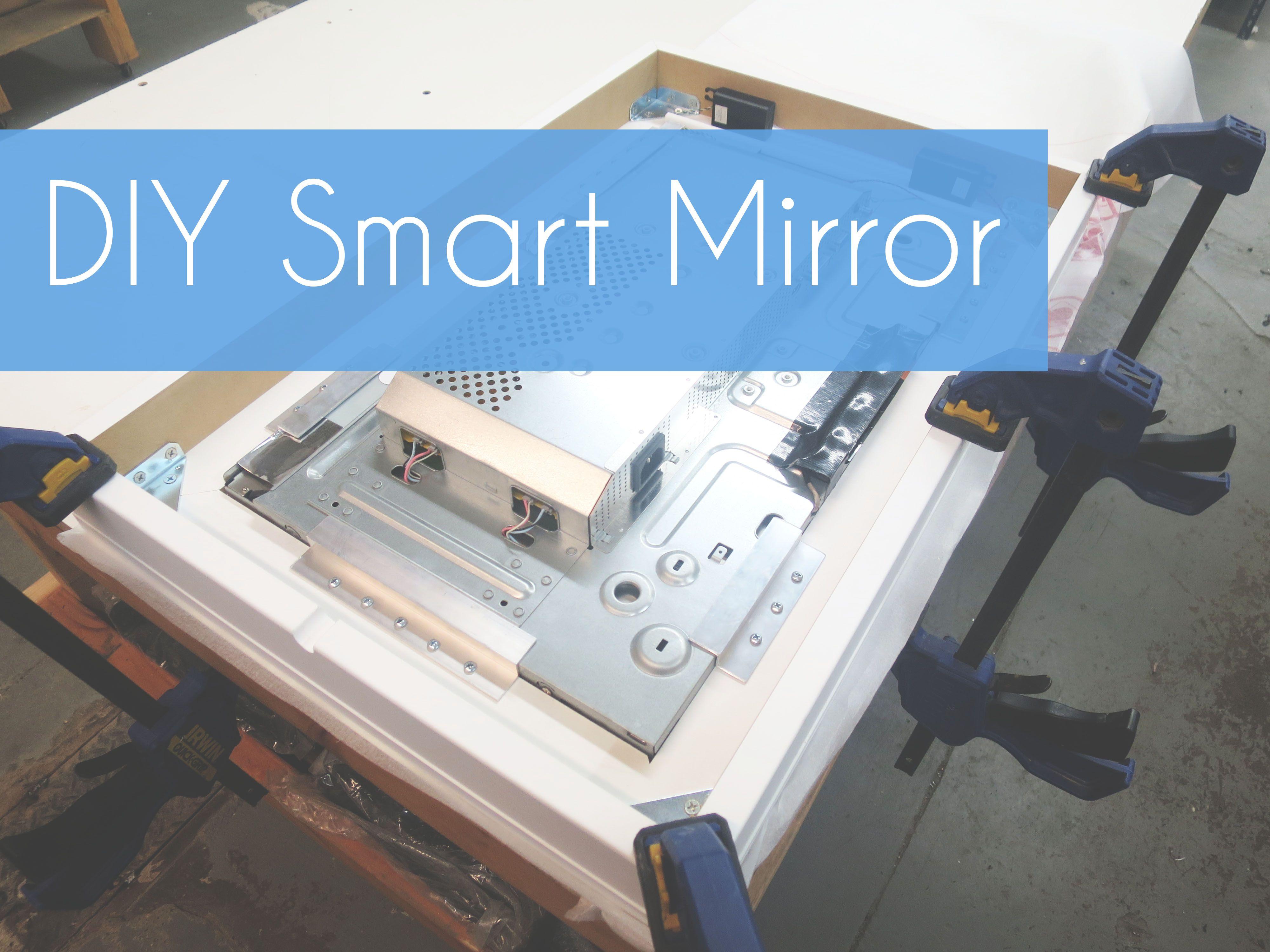 Diy Mirror Projects Smart Mirror Diy Smart Mirror Pinterest Raspberry Pi
