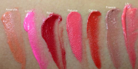 Kryolan Lip N Cheek Stain Swatches | Swatch and Lips