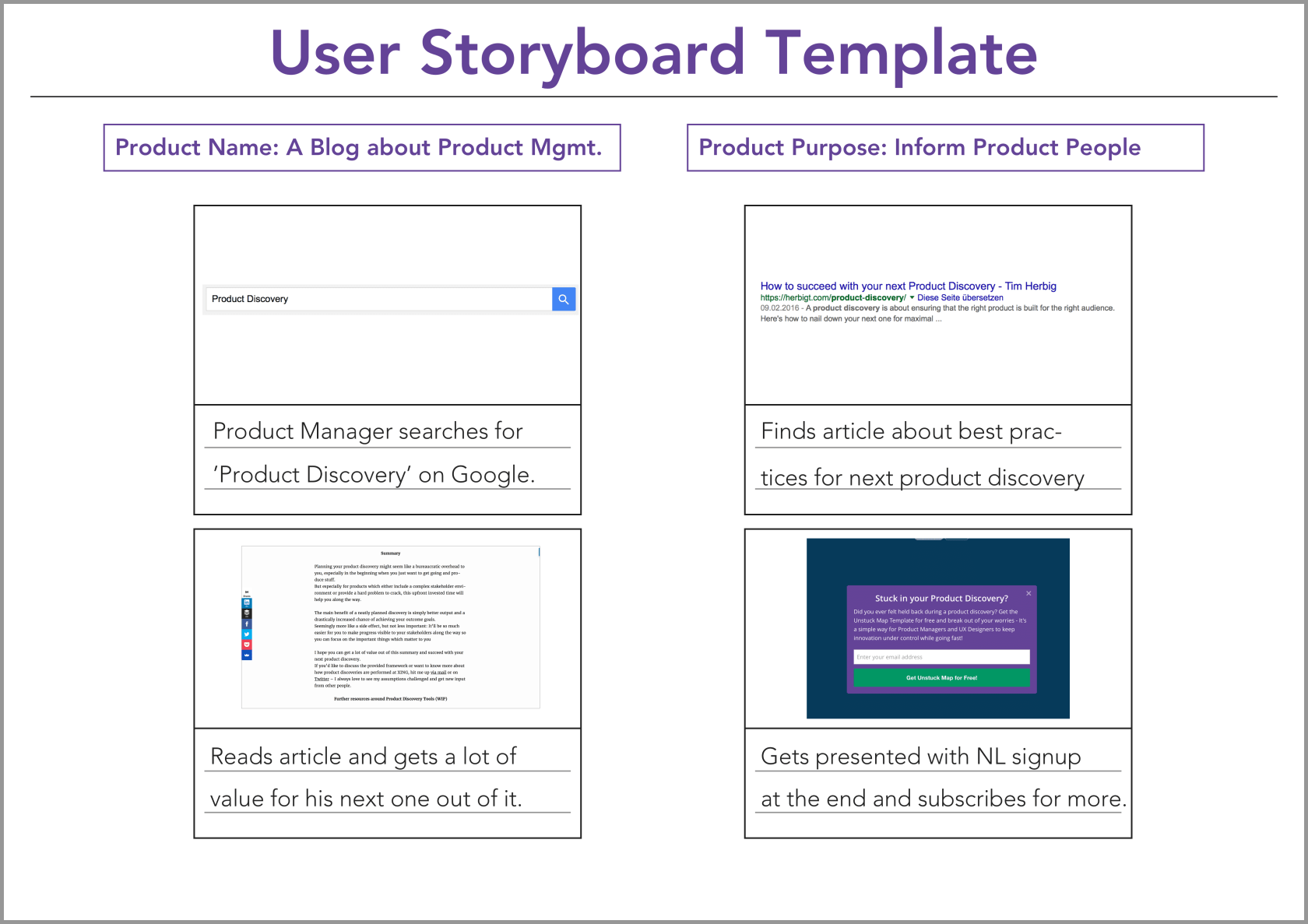 agile storyboard template.html
