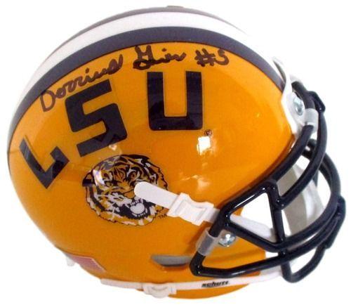 Schutt LSU Tigers Mini Helmet Yellow
