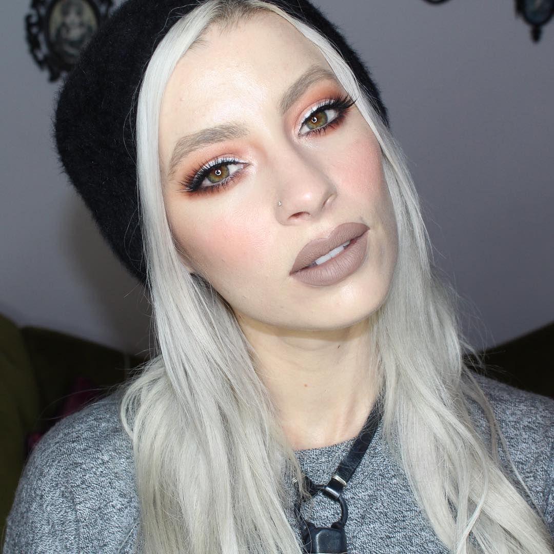 Pumpkin Spice Latte Inspired Makeup Lips Are Jeffree Star