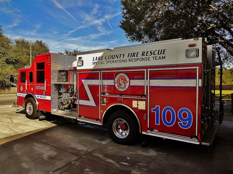 Lake County Fire-Rescue Squad 109 | EMS Vehicles | Fire