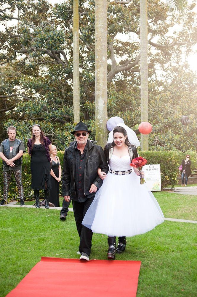 db722e66ed51 Eighties Heavy Metal Wedding: Jill & Simon | Wedding Plans | Heavy ...