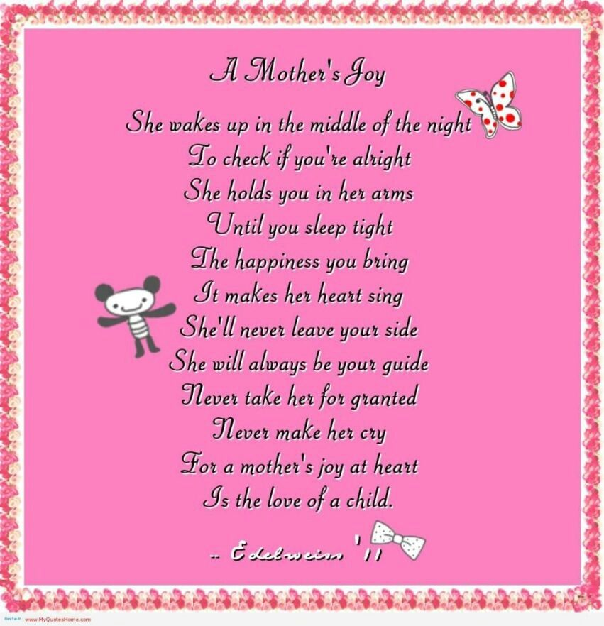 Never Make Her Cry Mother Quotes Mothers Day Poems Love Quotes Poetry