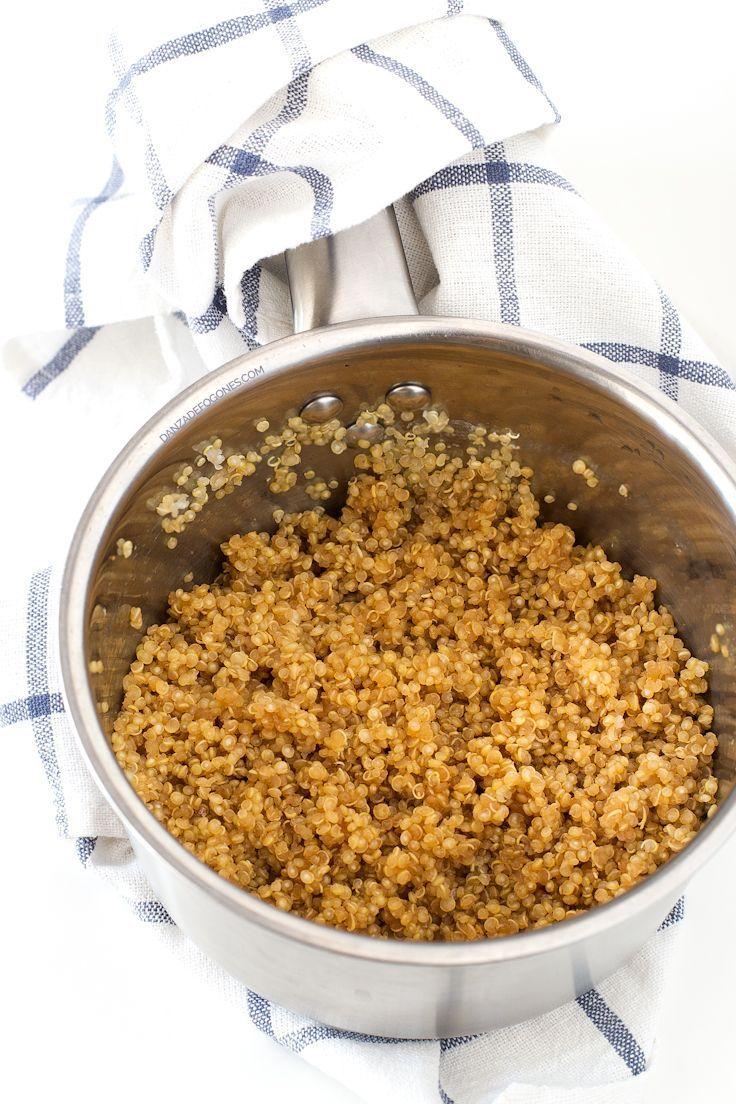 C mo cocinar quinoa receta recetas veganas faciles for Como se cocina la quinoa para ensalada