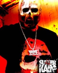 Robert Evans, better known by his stage names DJ Bless and Sutter Kain, is an American rapper and producer from Queens, New York. His productions range from traditional East Coast hip hop to ghetto metal, a style that samples metalcore. The name Sutter Kain is based on the character Sutter Cane from the 1995 horror film In the Mouth of Madness. He is the founder and owner of Never So Deep