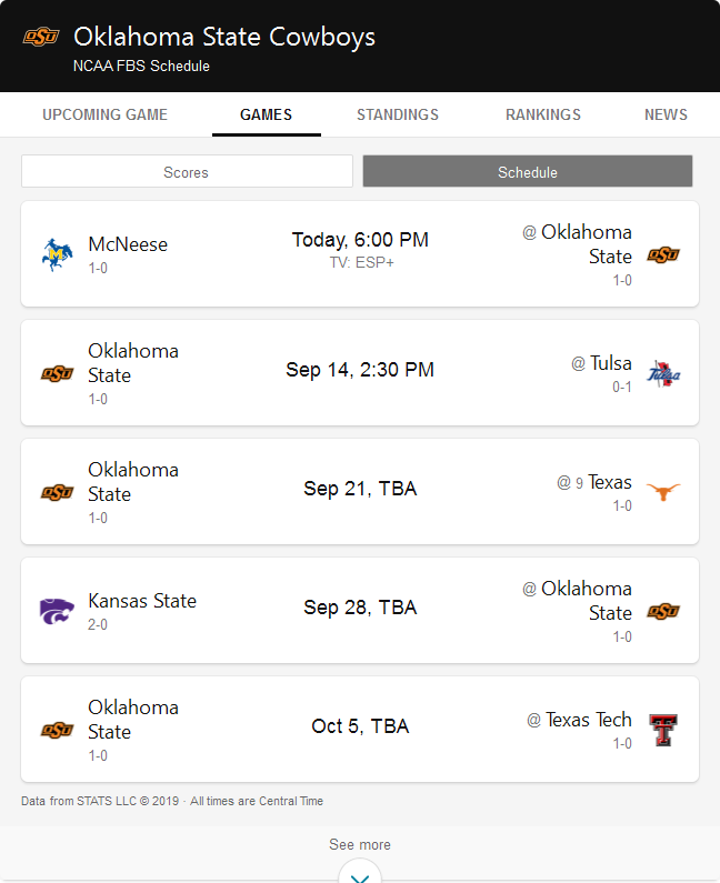 Find the latest scores, standings, and news for NCAA ...