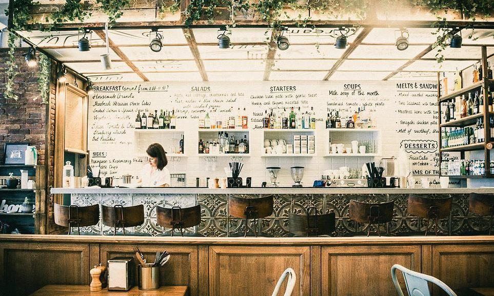 Milk Bar Interior Design By Belenko Design Studio With Images