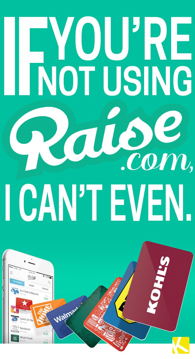 Raise Gift Cards: Pretty Much the Easiest Way to Save Big ...