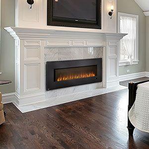 Napoleon Slimline Wall Mount Electric Fireplace Efl60h Bedroom
