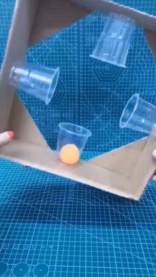 Pingpong ball inertia experiment