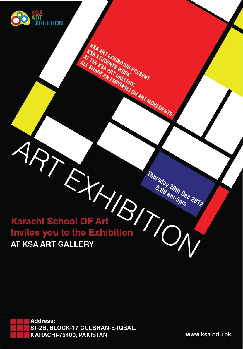 Poster design exhibition - Art Exhibition Poster Design Poster On Art Exhibition