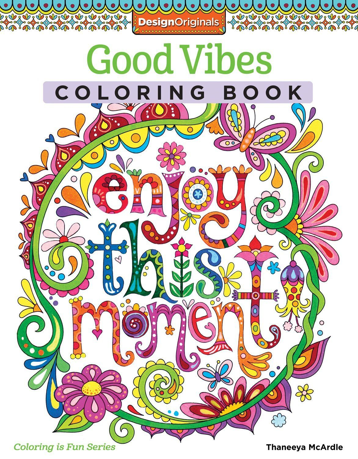 Enjoy This Moment Adult Coloring Book | dibujos | Pinterest | Papel ...