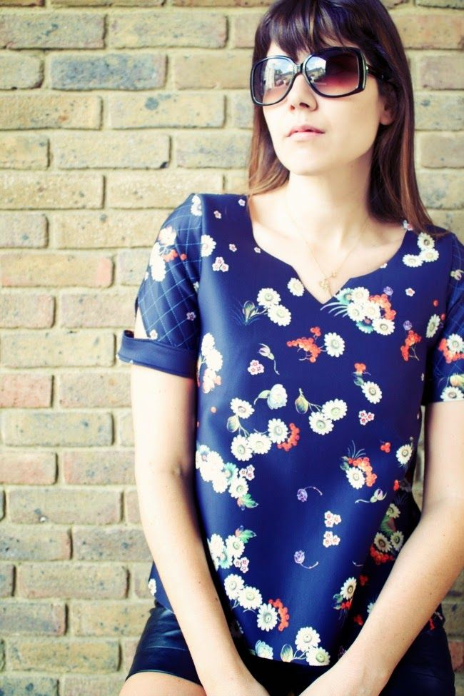 House Of Pinheiro Pattern Anthology Neptune Scuba Tee Sewing For