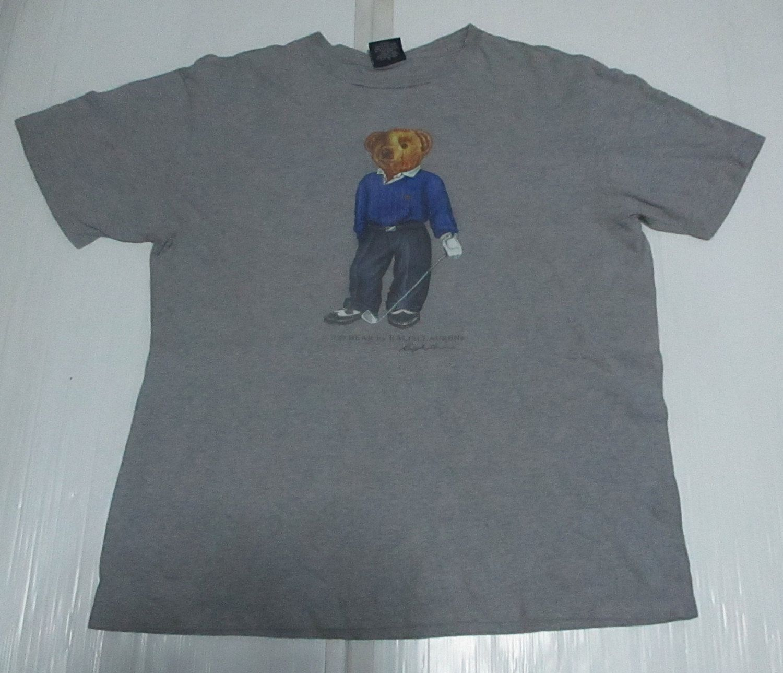 Vintage Ralph Lauren Polo Bear T-shirt Size M 1wRkYz7xGj